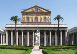 Rom, Sankt Paul vor den Mauern (San Paolo fuori le Mura)